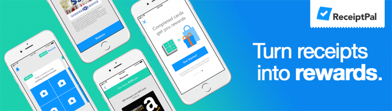 ReceiptPal Free Points, Gift Cards, and Cash Rewards
