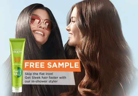 Free Garnier Fructis Sleek Shot