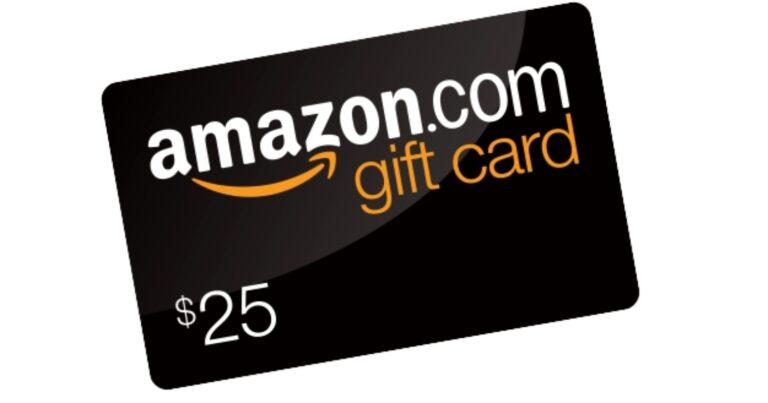 Amazon Gift Card Giveaway Raffle