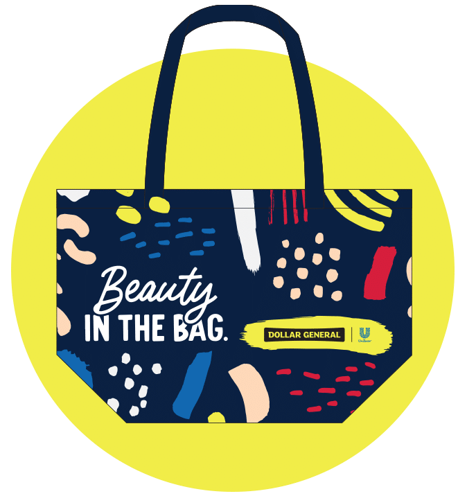Free Dollar General Beauty Tote Bag