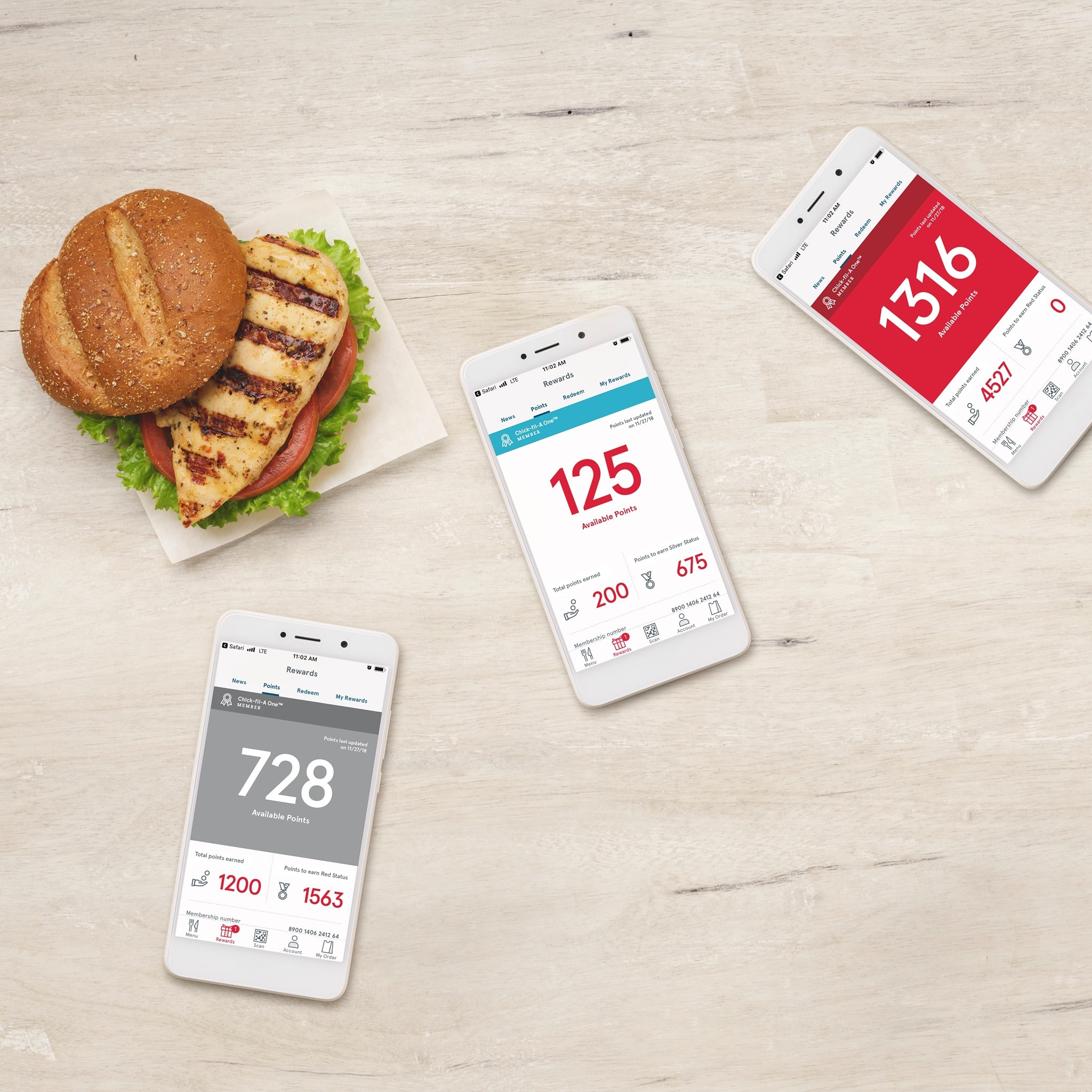 Free Chick-fil-A Rewards App Food