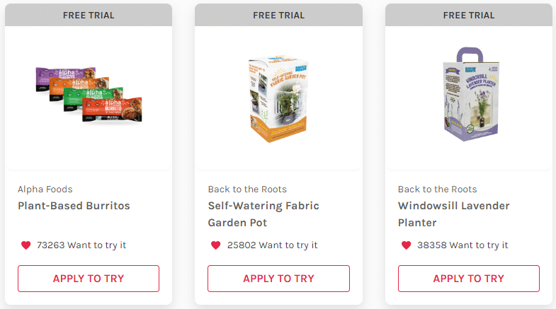 Free SocialNature Product Samples