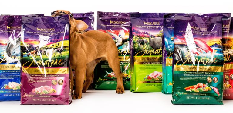 Free Zignature Dog Food