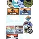 Free Atoll Board Stickers