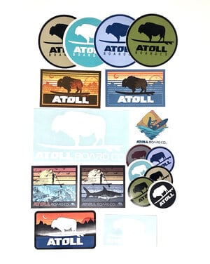 Free Atoll Board Stickers