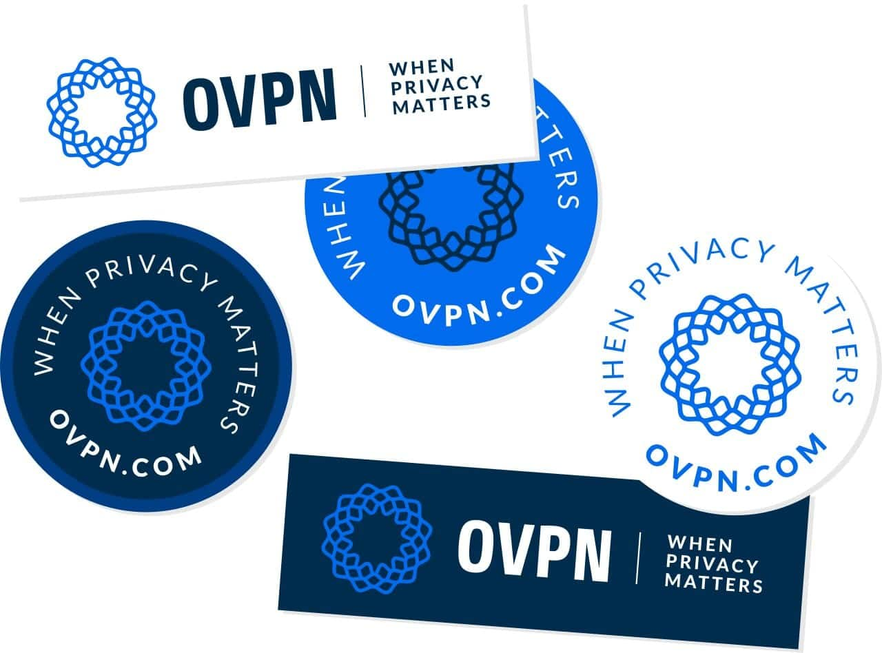 Free OVPN Stickers