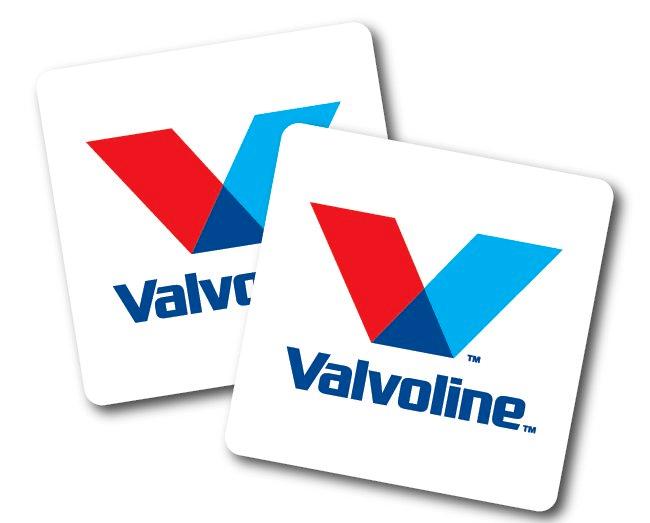 Free Valvoline Stickers