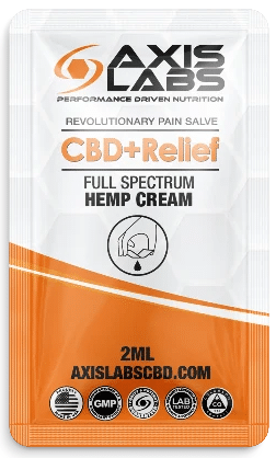 Free Axis Labs CBD+Relief Cream