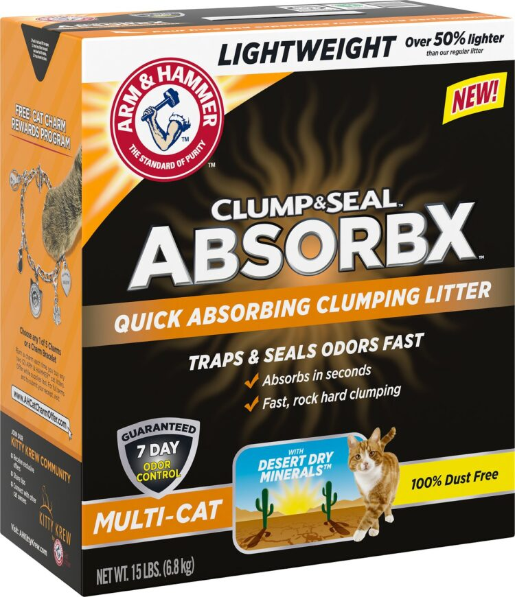 Arm & Hammer Clump & Seal Cat Litter Rebate