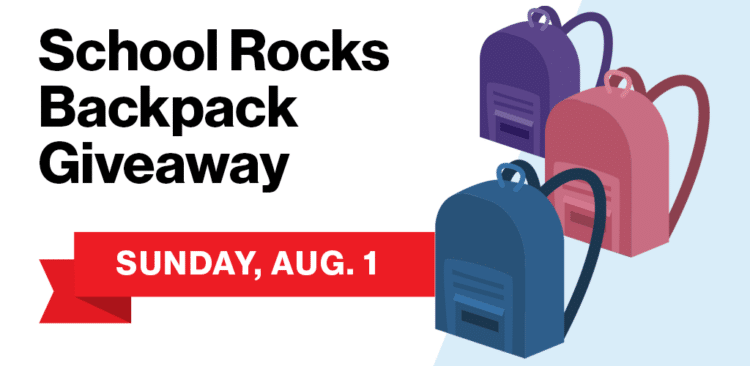 Free Backpack with School Supplies 2021