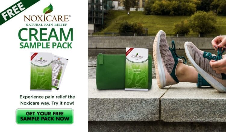 Free Noxicare Pain Relief Cream