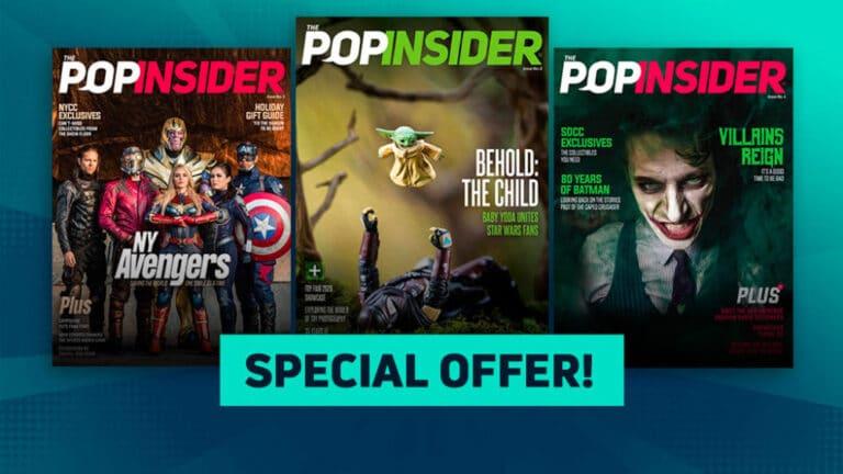 Free Pop Insider Magazine Subscription