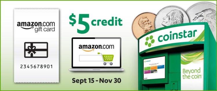 Coinstar Amazon Promo