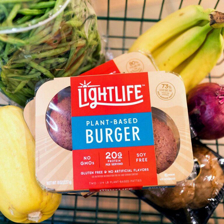 Free Lightlife Plant-Based Burgers