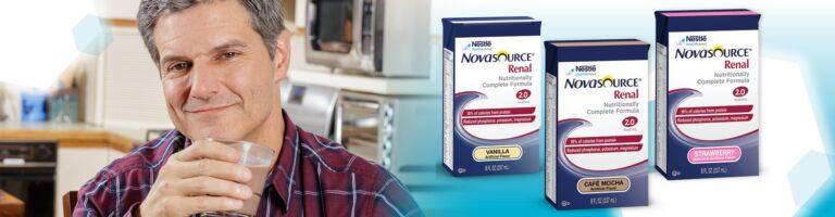 Free NOVASOURCE Renal Formula for Dialysis Patients