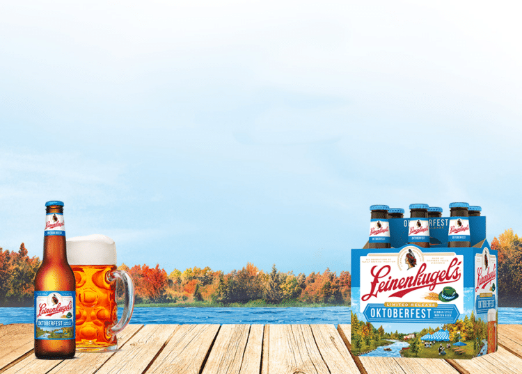 Free 6-Pack of Leinenkugel Oktoberfest Beer