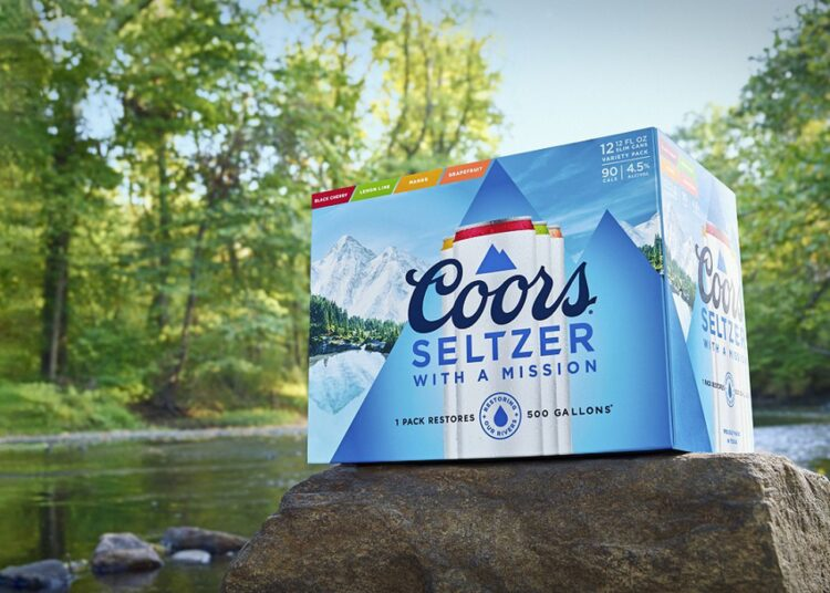 Free Coors Seltzer 12-Pack