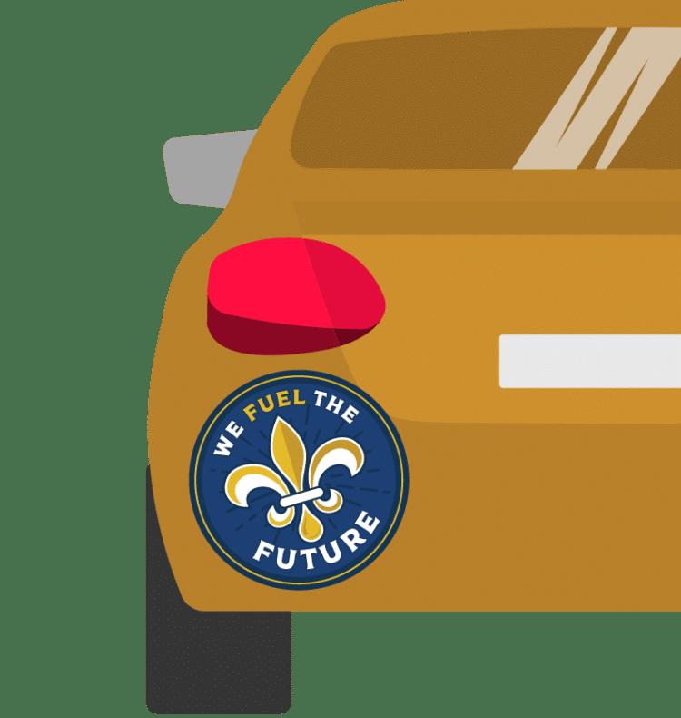 Free Louisiana Oil & Natural Gas Sticker