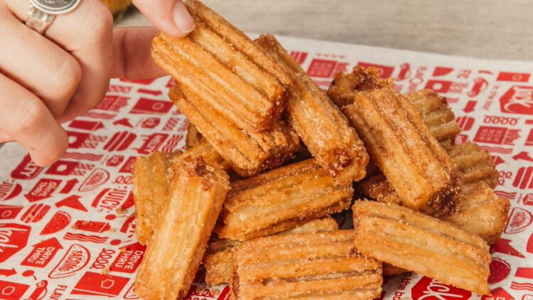 Free Jack in the Box Churros