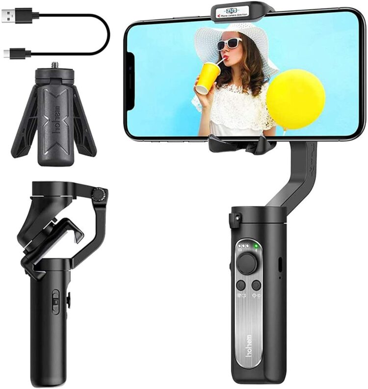 Free Smartphone Gimbal Stabilizer