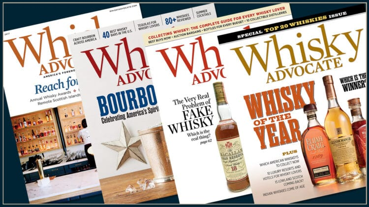 Free Whisky Advocate Magazine Subscription