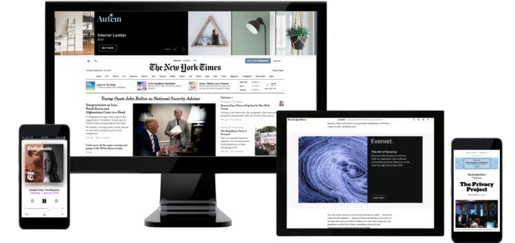 Free New York Times Digital Subscription