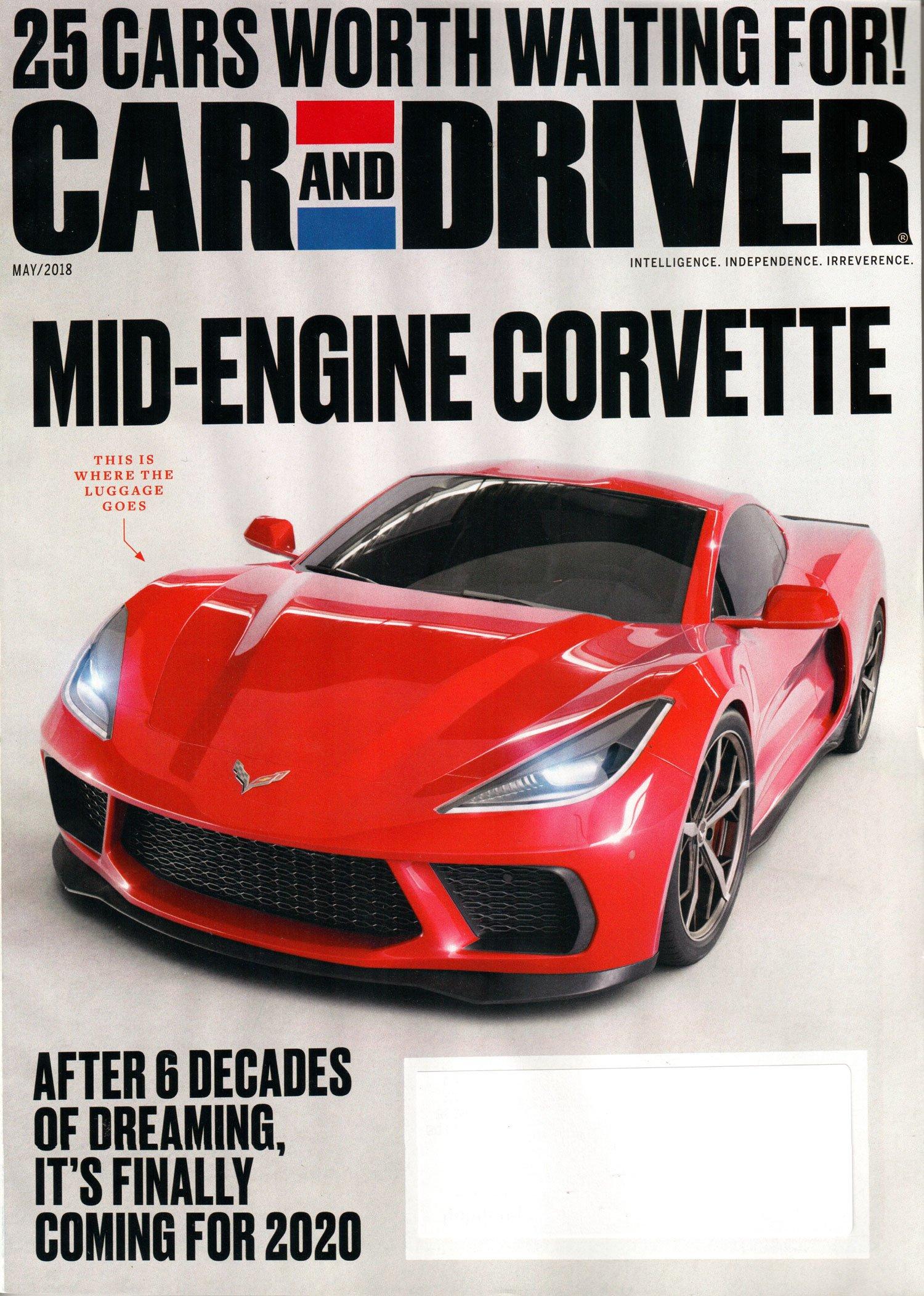 Free Car & Driver Magazine Subscription