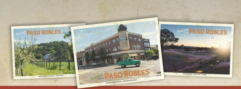 Free Paso Robles Postcards
