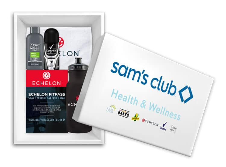 Free Sam's Club Health & Wellness Box