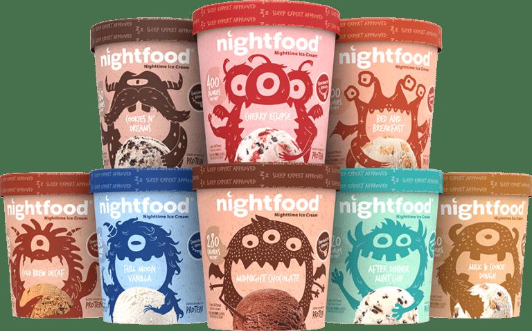 Full Rebate Free Nightfood Ice Cream