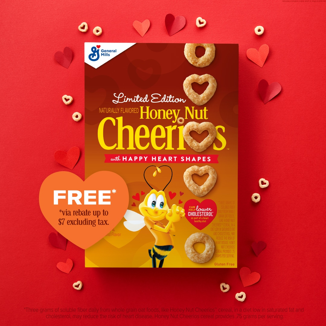 Free Box of Honey Nut Cheerios