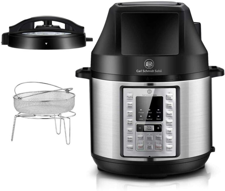 Pressure Cooker and Air Fryer Combo