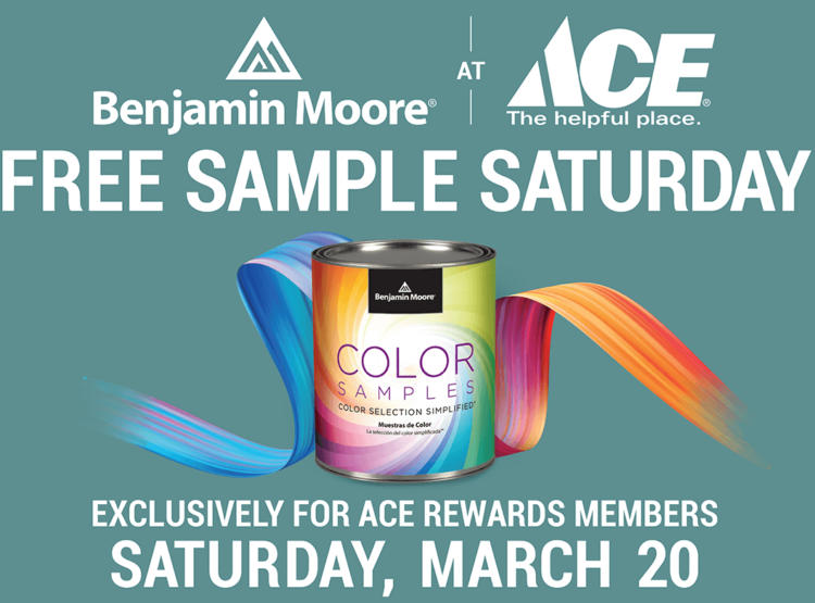 Free Benjamin Moore Paint Sample