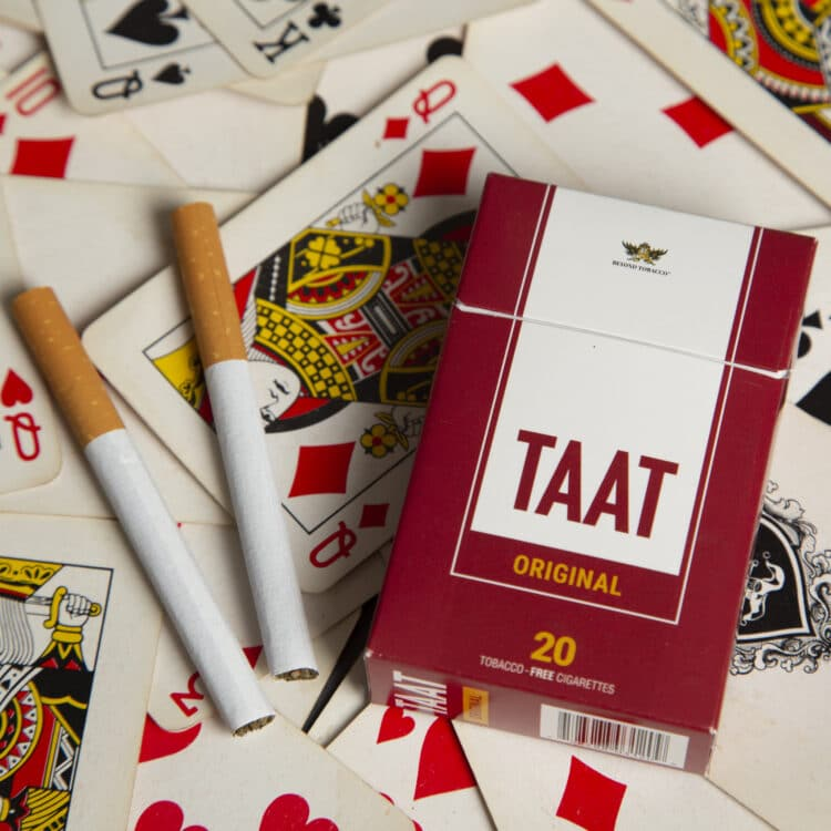 Free TAAT Tobacco & Nicotine-Free Cigarettes