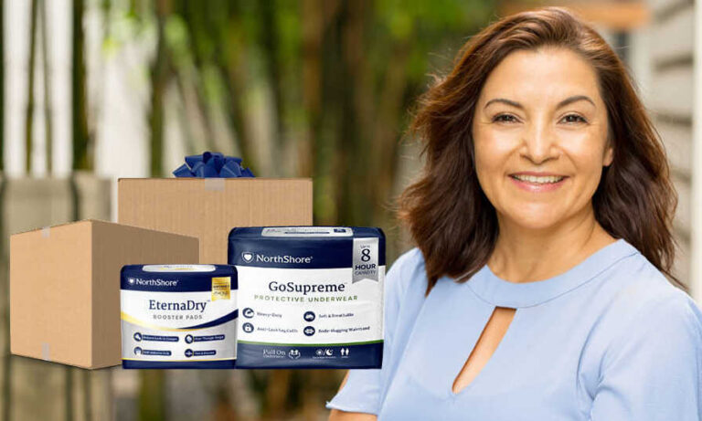 Free NorthShore Care Incontinence Products