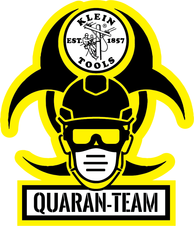 Free Quaran-Team Sticker from Klein Tools