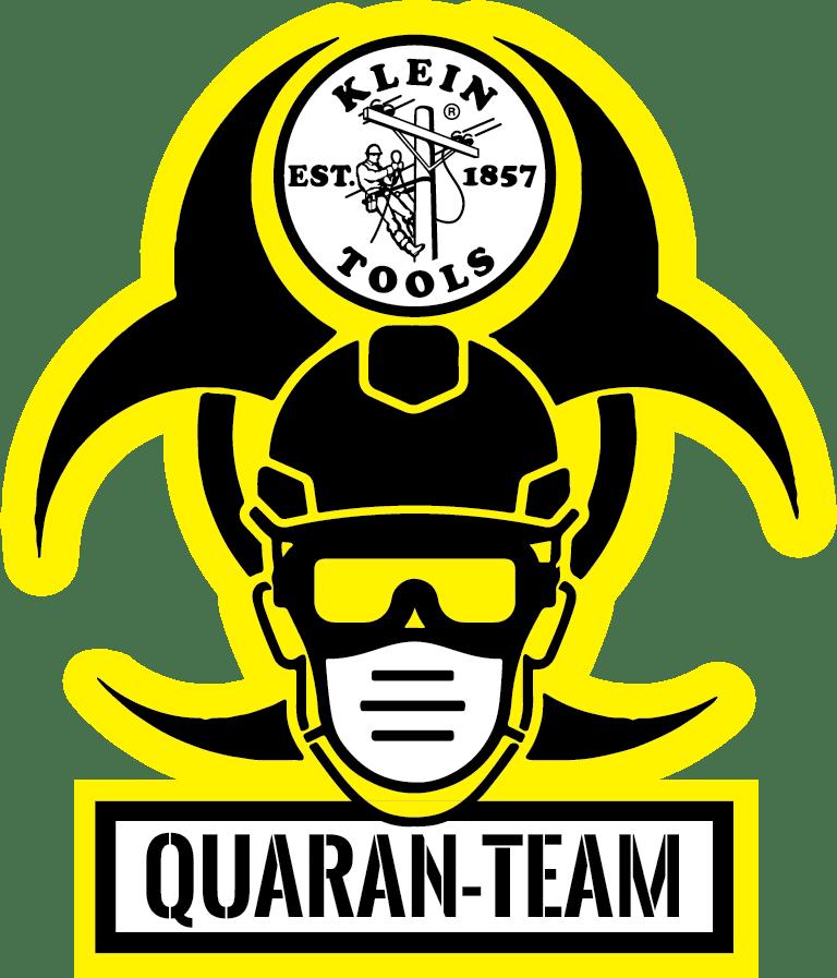 Free Quaran-Team Sticker from Klein Tools