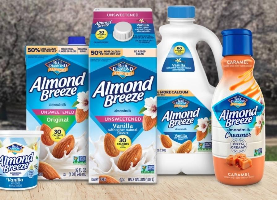 Free Almondbreeze Products