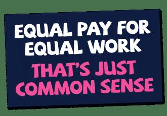 Free Equal Pay Sticker