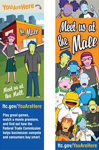 Free FTC You Are Here Bookmark