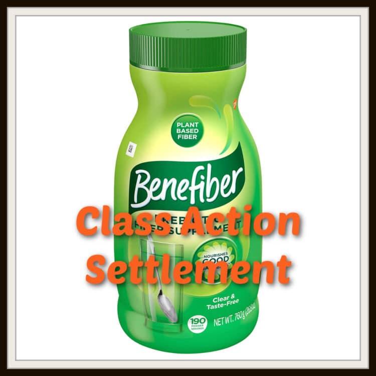Benefiber Class Action Settlement 2021