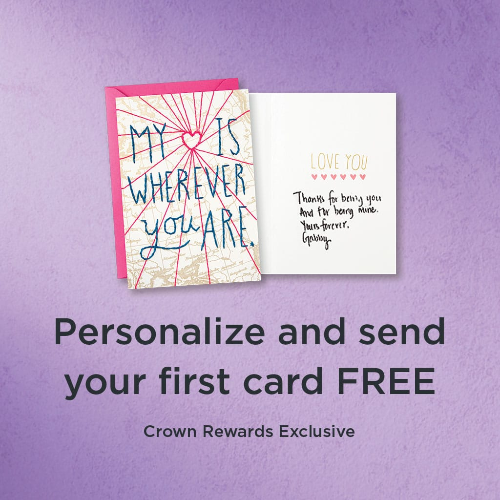 Free Hallmark Customized Greeting Card