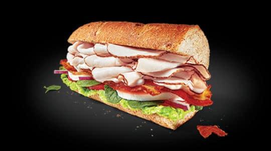 Free Subway Sandwich