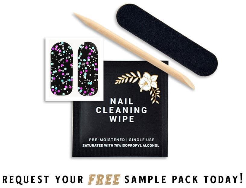 Free Tough Girls Nail Polish Strips