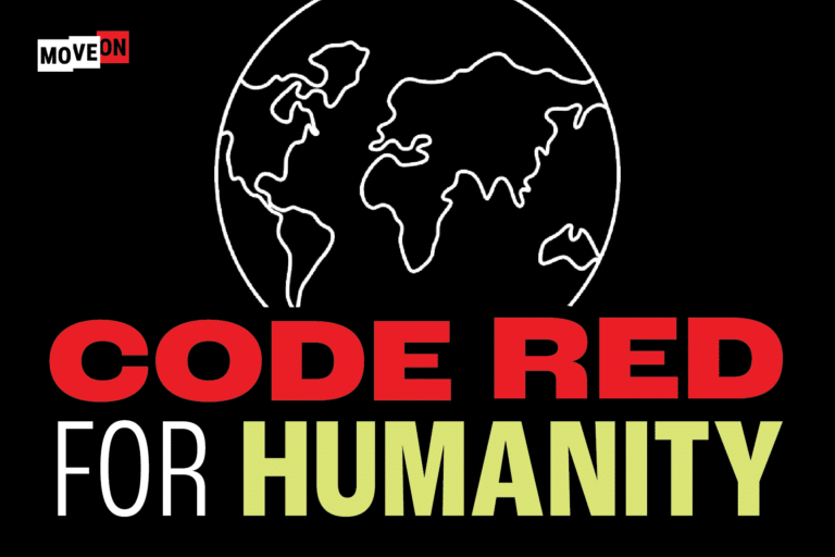 Free Code Red for Humanity Sticker