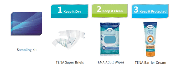 Free TENA Caregiver Sample Kit