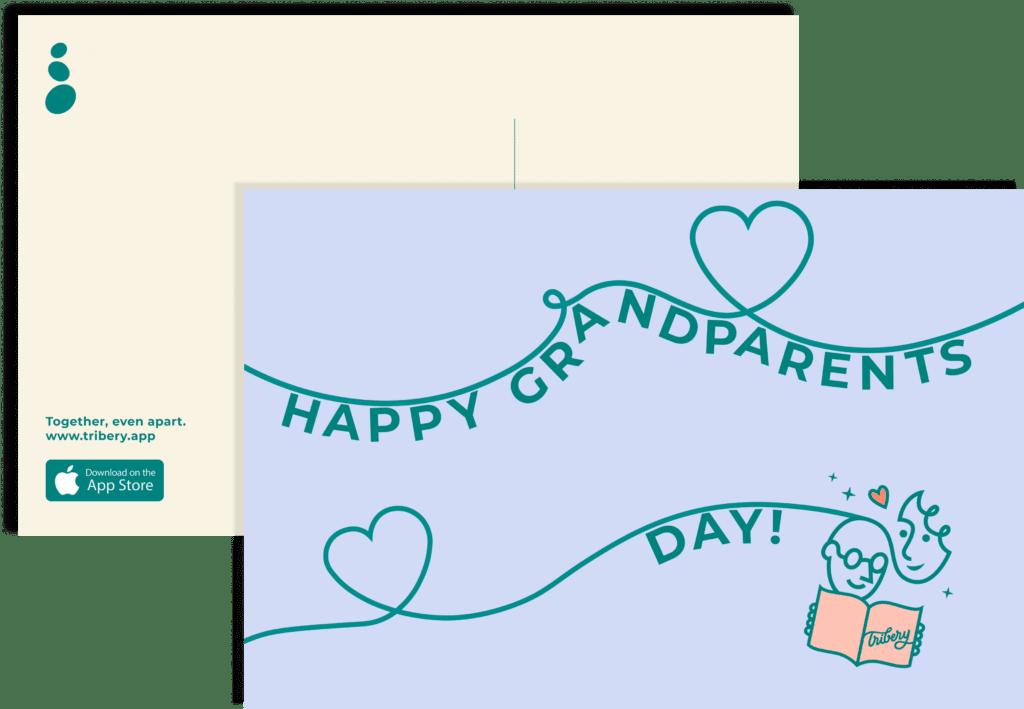 Free Grandparents Day Postcard