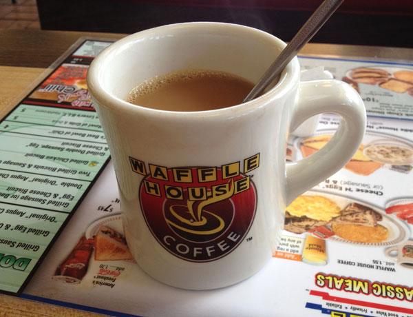 Free Waffle House Coffee