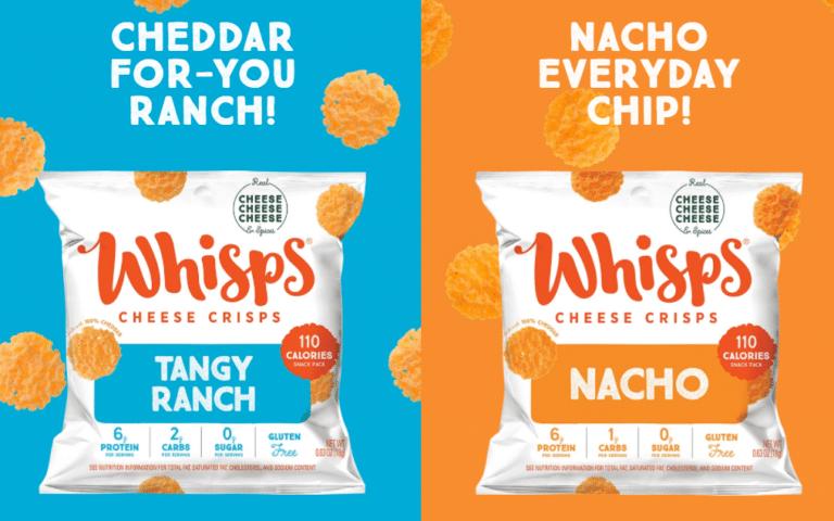 Free Whisps Cheese Crisps